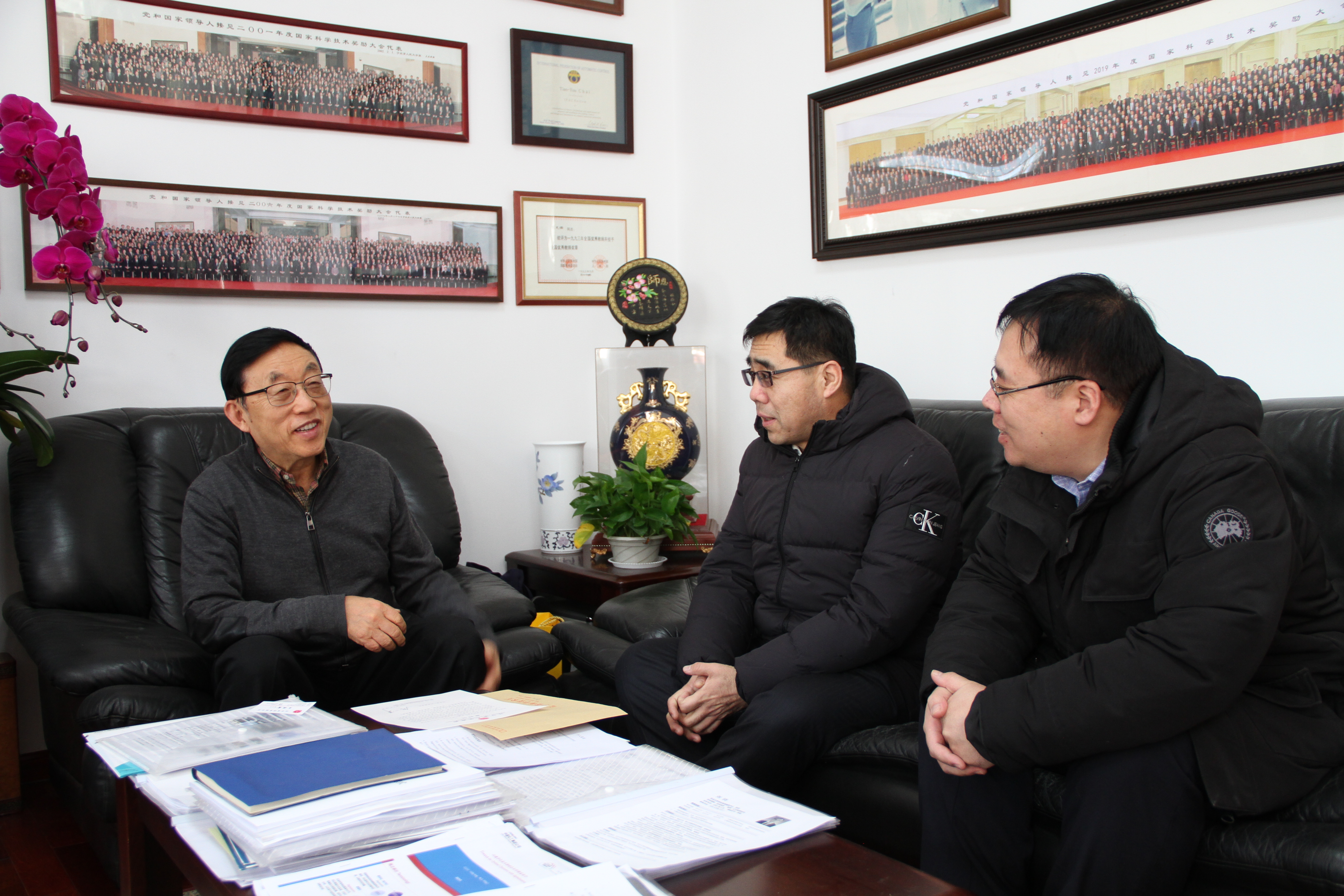辽宁省科技厅副厅长王成鑫一行来